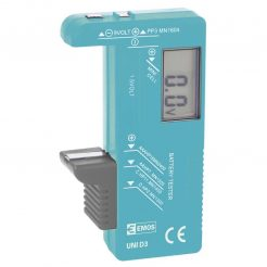 Tester na viacero typov batérií